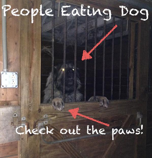 People Eating Dog