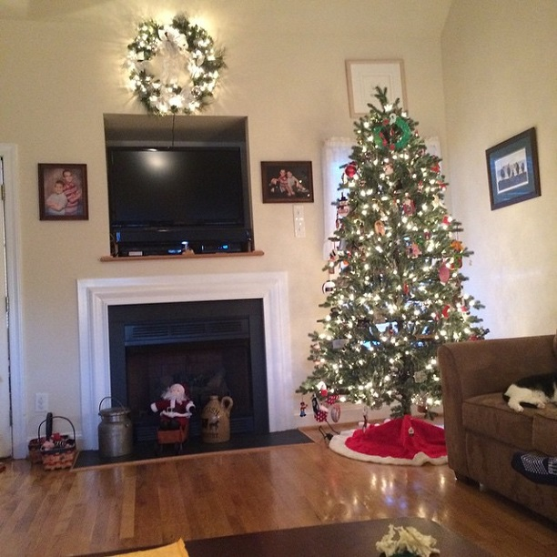 Our decorations from Christmas 2014
